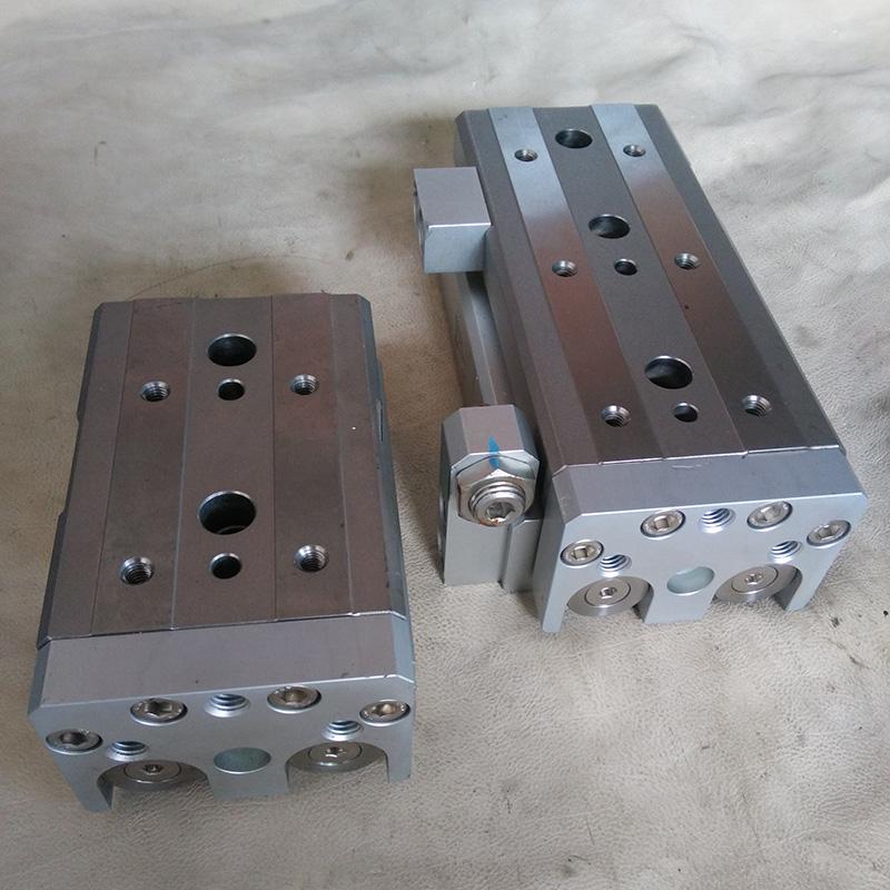 SMCMXQ25-10/75 滑台 használt pneumatikus henger