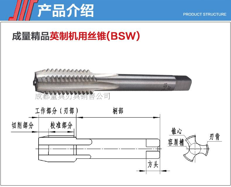 The amount of products with BSF3/161/45/161/25/83/47/8 inch machine tap