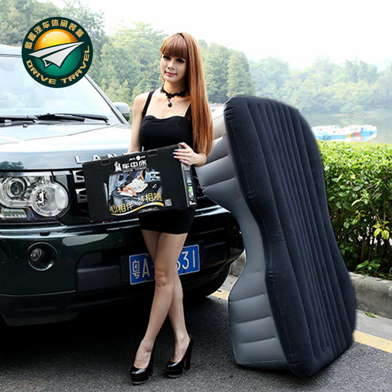 The Jeep Commander Jeep SUV car trunk folding car car travel inflatable mattress bed