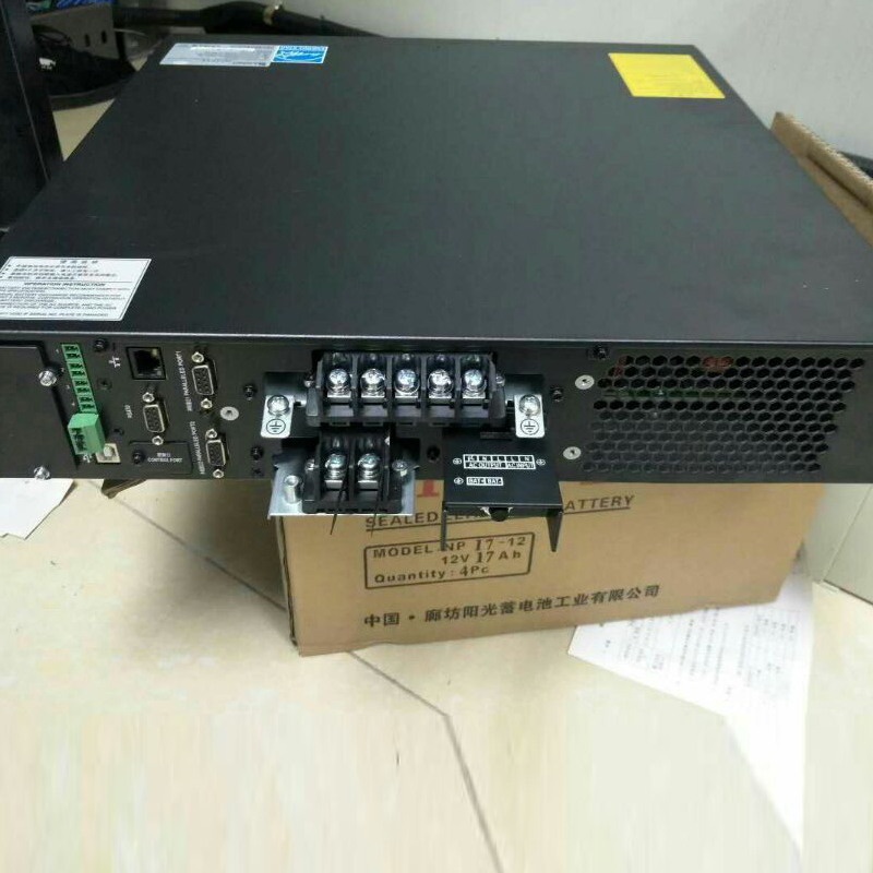 Emerson ITA-06K00AL1102C00UPS uninterrupted 6KVA6KW rack type long acting machine