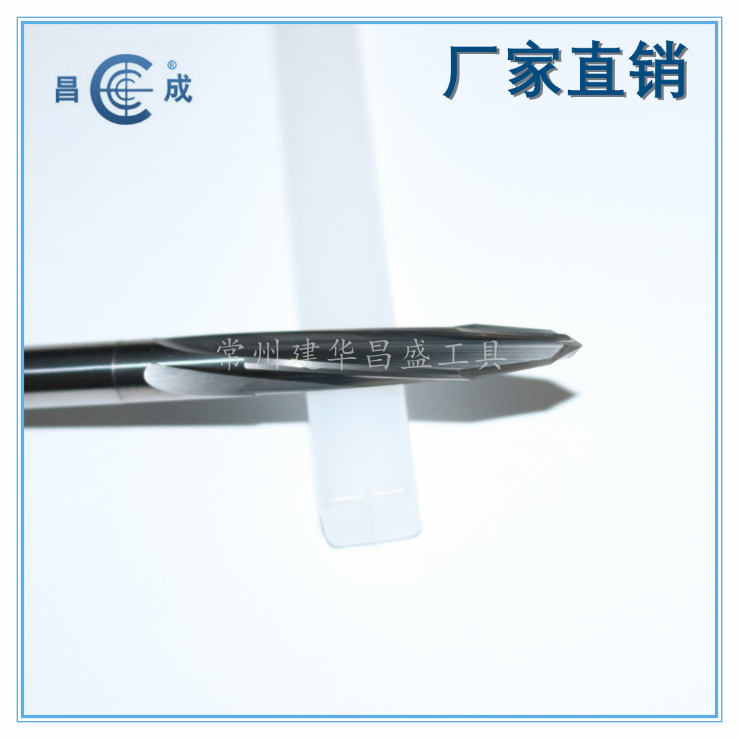 Non standard whole hard alloy export screw reamer, six edge machine reamer, multi blade slope reamer customized