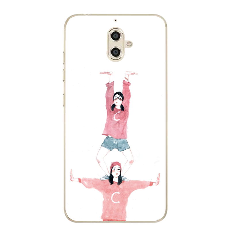 Jin S9/S8/F5/m5/m3/F103/gn9011 mobile phone shell soft funny two dimensional girl custom silicone