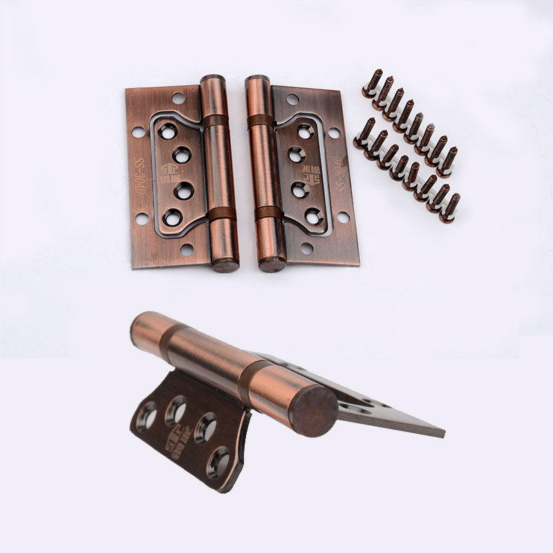 304 stainless steel joint hinge bearing, green bronze, red copper, ivory white hinge, silent thickening, no slotting