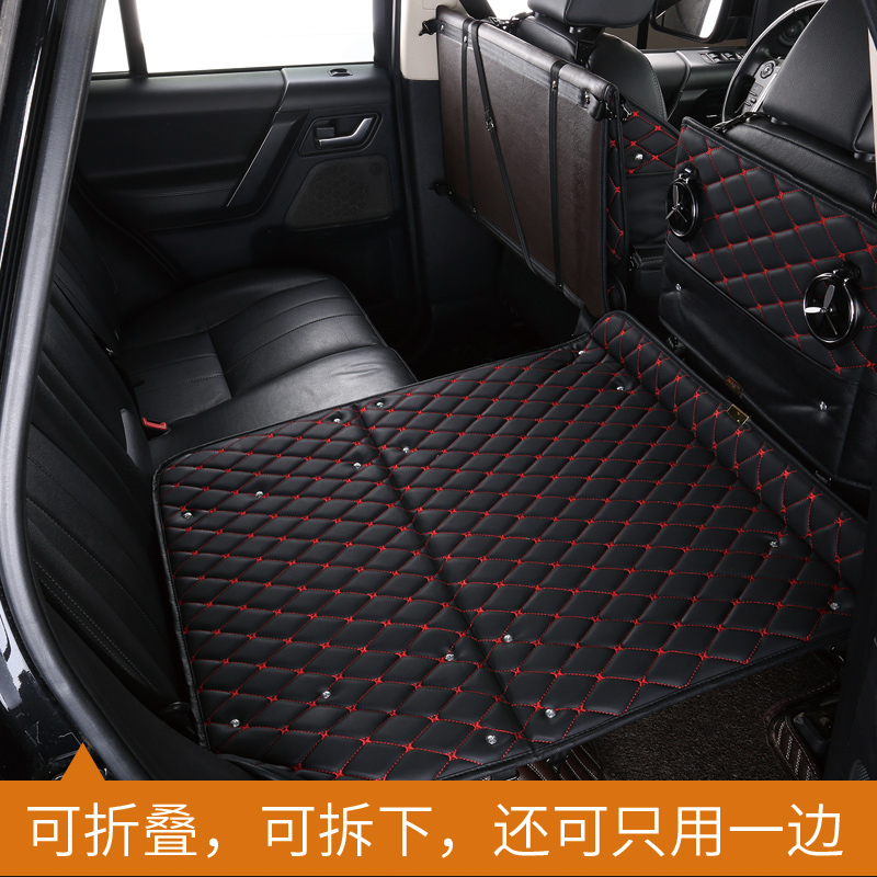 Vehicle traveling bed inflatable mattress children rest bed table lathe driving car SUV rear mattress