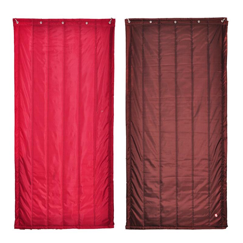 De inverno de algodão Grosso cordão de isolamento porta pára - Vento Quente no inverno e Frio quarto de tecido à Prova de SOM doméstico.