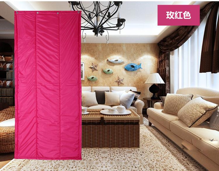革の家庭用空邮綿防水暖簾暖簾をさらに厚くし保温調子簾皮暖簾バッグ防音冷凍庫
