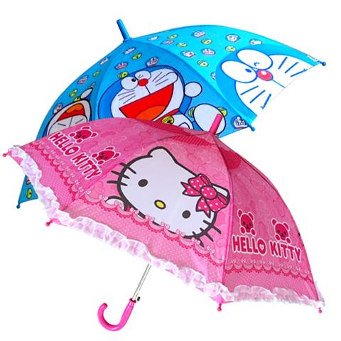 哆啦A梦儿童伞雨伞直伞男童小朋友小孩小学生卡通女童伞蜘蛛侠