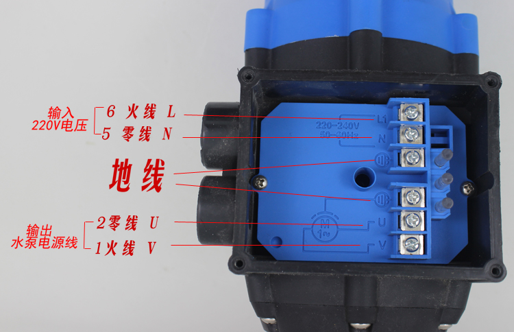 Automatic adjustable hydraulic pressure switch protection water pump controller / booster pump pressure controller