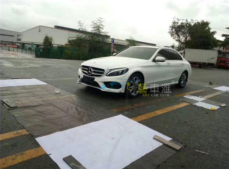 Mercedes-Benz C200 S-class ML350 CLS Road 360 panoramic traffic recorder HD camera night vision