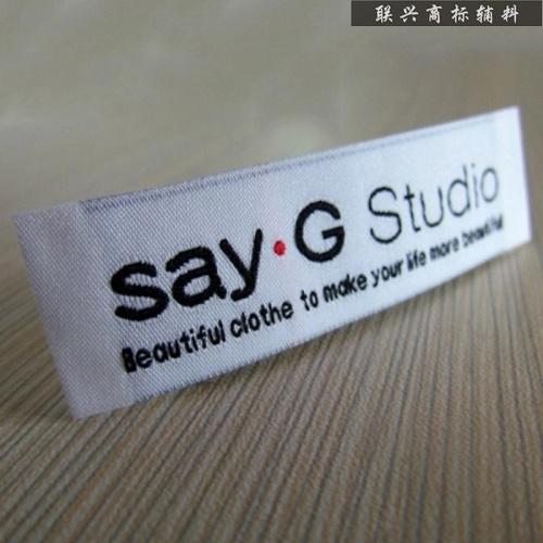 服装をした標的標的织唛織標ピスネーム牌水洗標注文制作を標包郵