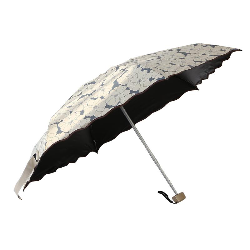 小遮阳防晒太阳伞黑胶防紫外线女