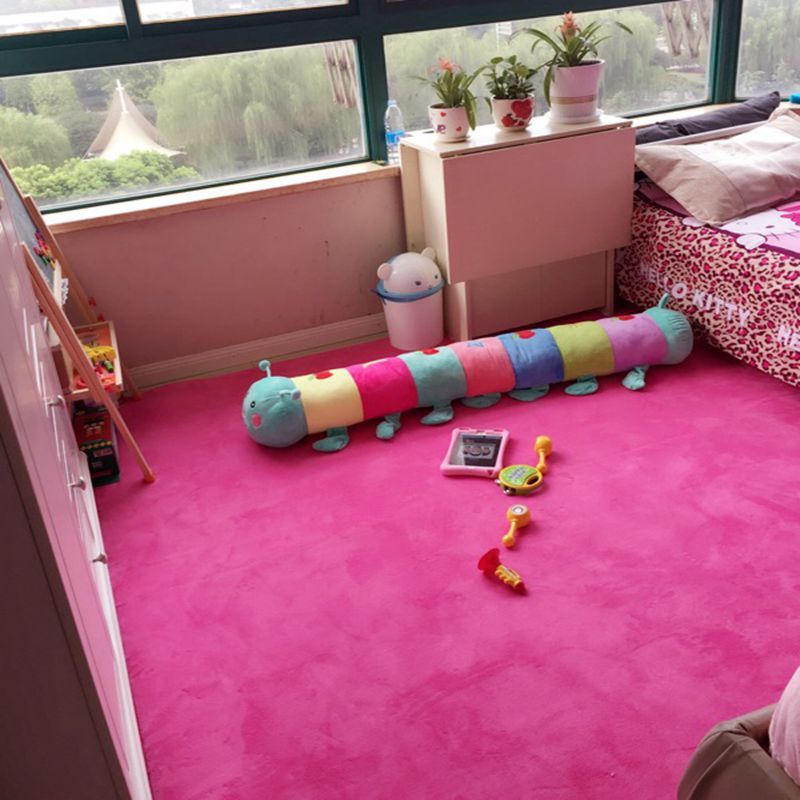 Flannel carpet in the living room bedroom bed tatami fitness yoga mat Piaochuang children dance martial arts carpet