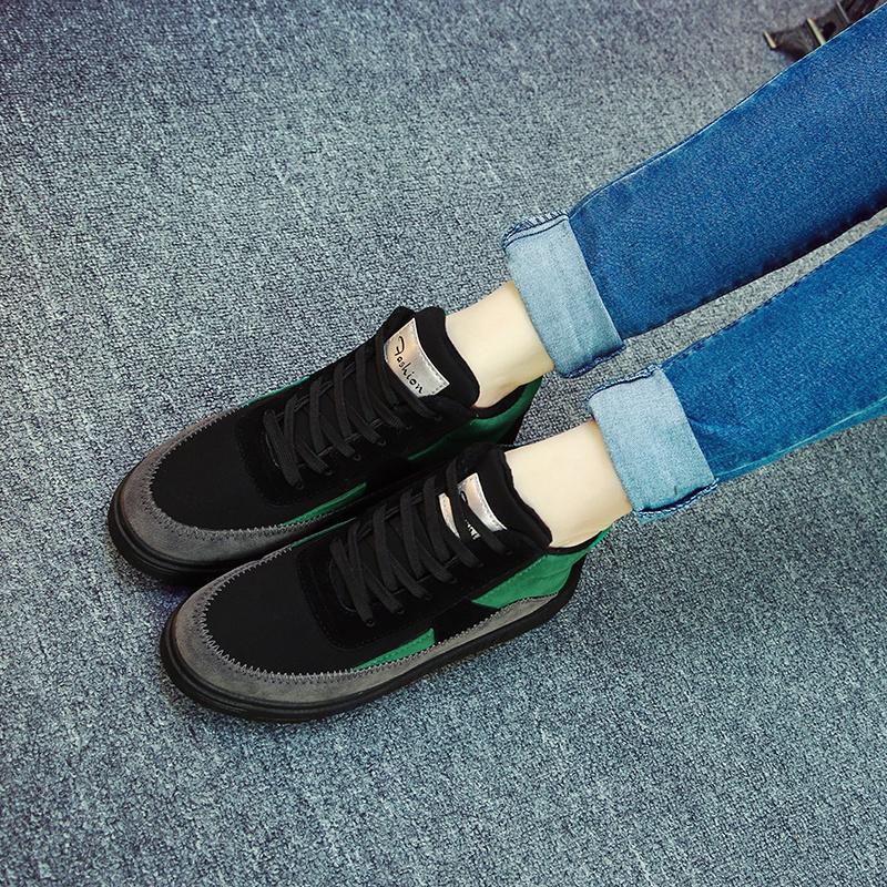 鼕季高幫保暖加絨防水棉鞋女運動休閑厚底短靴學生百搭韓版雪地靴