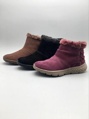 舒适 女子保暖靴 三色原单