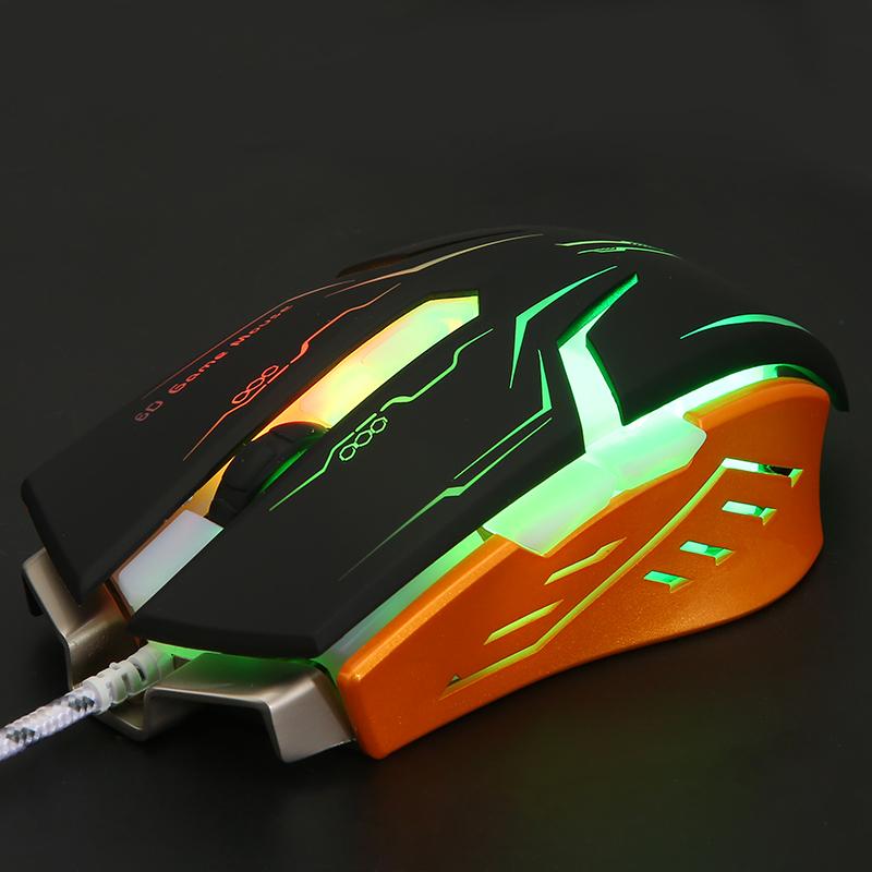 машини за кабелна игра мишка esports рейзър wrangler преносим компютър, usb домакински от метални светлинен лол