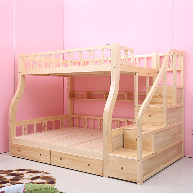 деревянные двухъярусные кровати детей спать в постели уровень материнской кровати на двухъярусной кровати прилавок мать все сосны