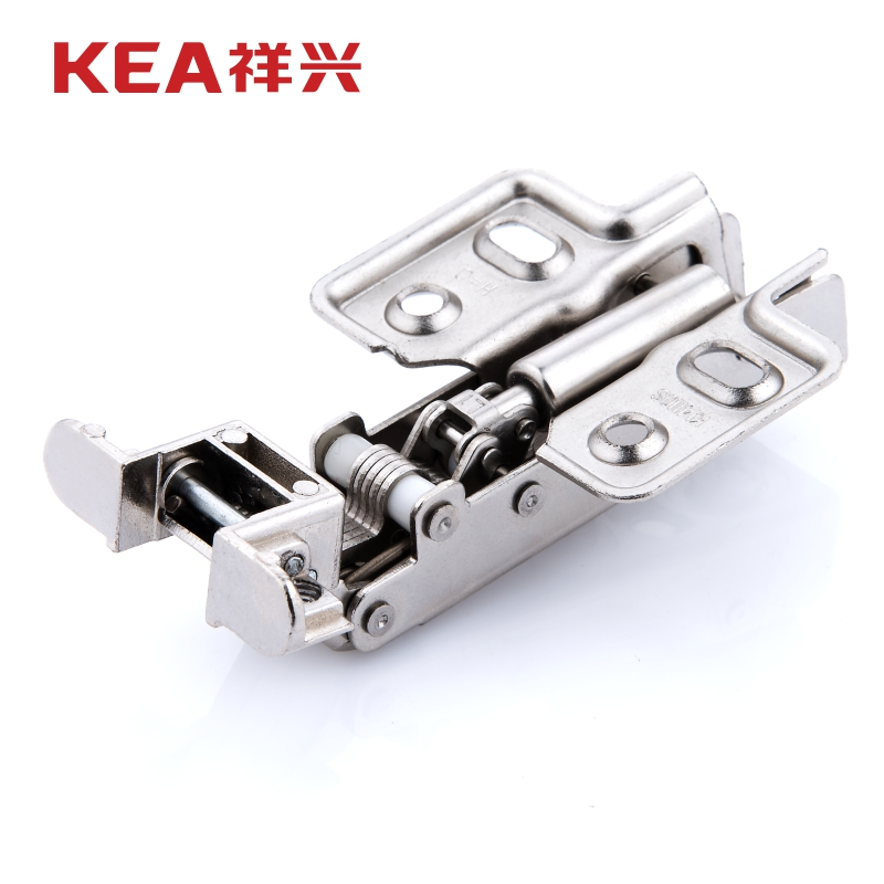 KEA auspicious hardware aluminum frame glass door with built-in damping hydraulic buffer alloy aircraft pipe hinge hinge