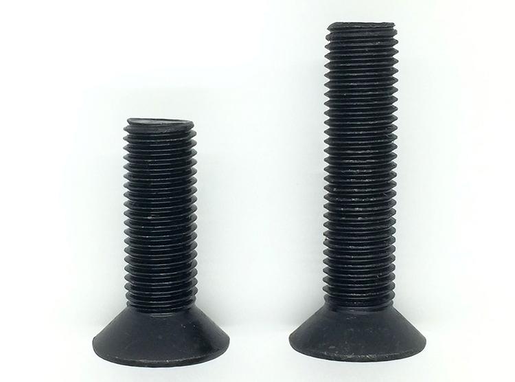 SCR10.9 class flat head six corner screw / countersunk head six corners screw / flat cup screw M12*20-145