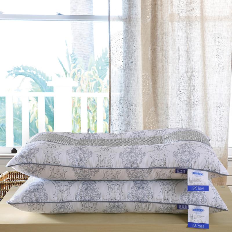 枕枕ケツメイシ成人シングル学生の羽のベロア枕の磁力療法保健睡眠に役立つ護枕