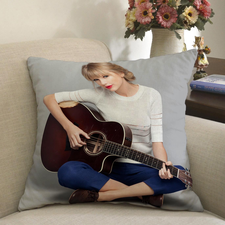 Η Τέιλορ ήταν διπρόσωπος Τέιλορ σουίφτ μαξιλάρι τα υπνάκο σου ερεισίνωτο μέση μαξιλάρι τελετή αγαθών