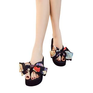 爆款拖鞋女夏时尚外穿2017新款韩版个性百搭夹脚人字拖沙滩鞋海边