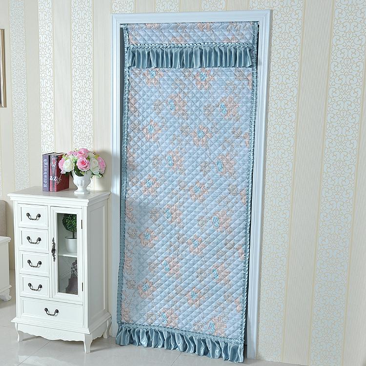 면직카텐 겨울 보력 보온 방풍 보온 가정용 칸막이 거실 거실 에어컨 오래 布艺 문발 커튼