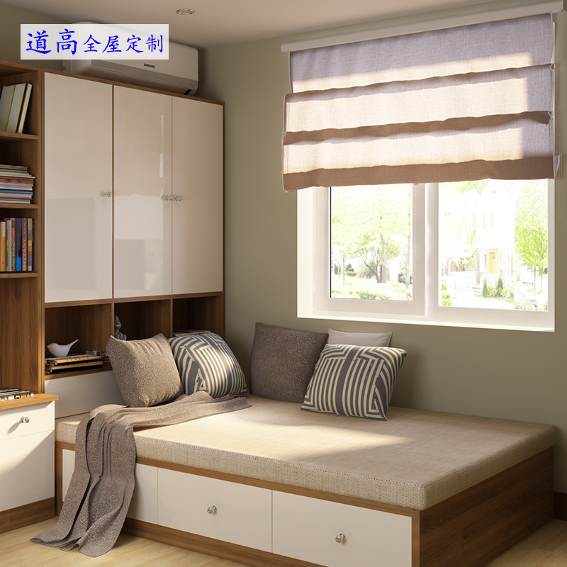 The name of excellence in product customization tatami bed m bed tatami platform customized bedroom cabinet wood windows