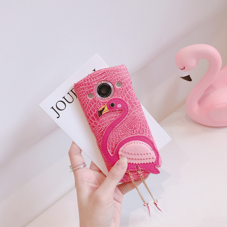 Hanfeng INS with Flamingo Mito T8 case M4/V4S/M8 M6S mobile phone leather shell fashionista
