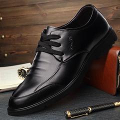 加大码男士皮鞋黑45真皮商务正装休闲46特大号脚宽棉鞋47工作鞋48
