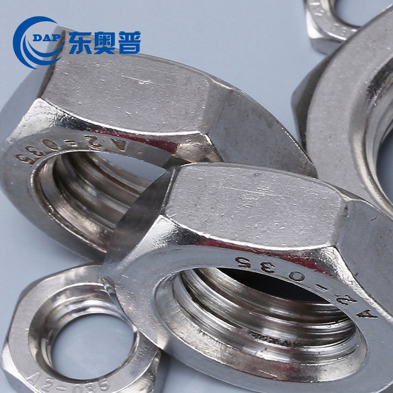 , , online shopping, shop, six stainless steel angle medium thin flat nut M4M5M6M8M10M12M14x0.5x0.75x1x1.25x1.5.