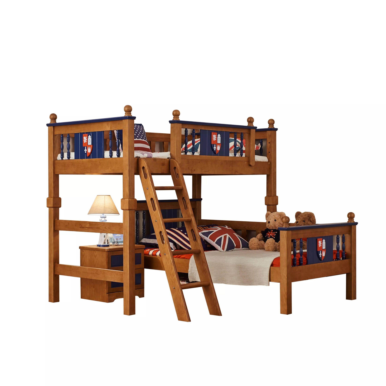 Bett und doppeltes Bett erwachsenen - Bett 拖床 multifunktionale Bunk Bed echte Muzi amerikanische Kinder - Bett der Mutter im Bett
