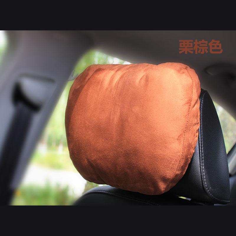 自動車のヘッドレスト四季クッション頚枕マイバッハ同型ベンツSクラスの自動車のヘッドレスト頚枕両用