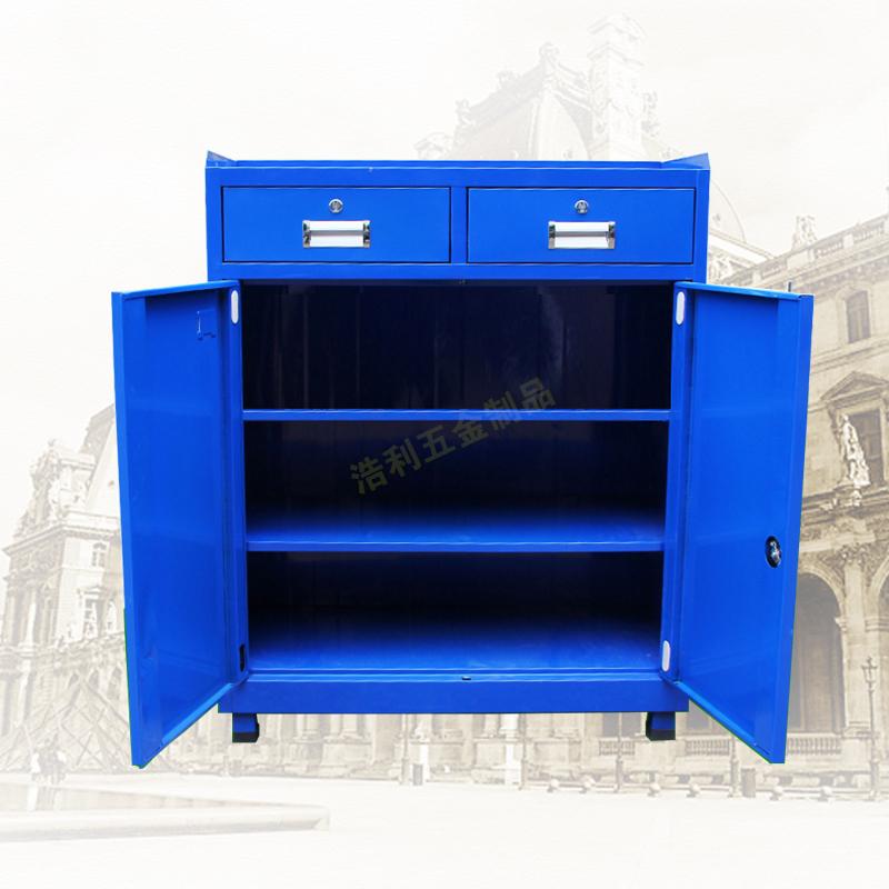 Werkzeug Kabinett Schwere verdickte schublade schwingenden türen toolbox Teil Kabinett aus auto - workshop werkzeug