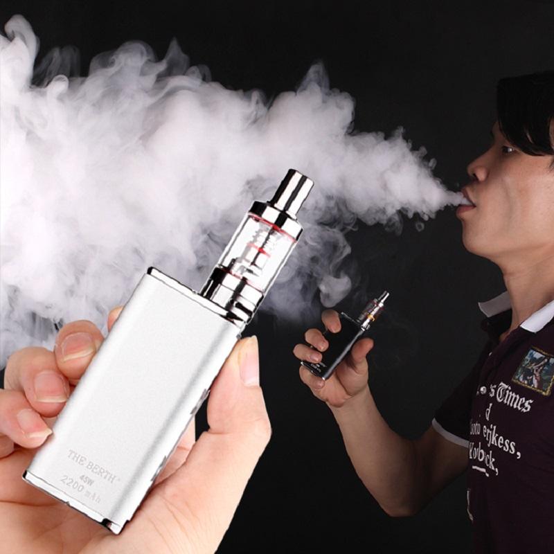 бросить курить легкие детоксикация электронных сигарет Аутентичные 2017 новых продуктов большой ящик мужчин пара сделала дым, дым