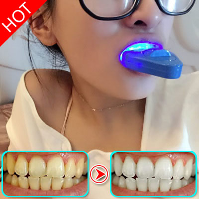 Tooth cold light whitening instrument, quick removing tooth, soda, tooth sticking artifact, set beauty