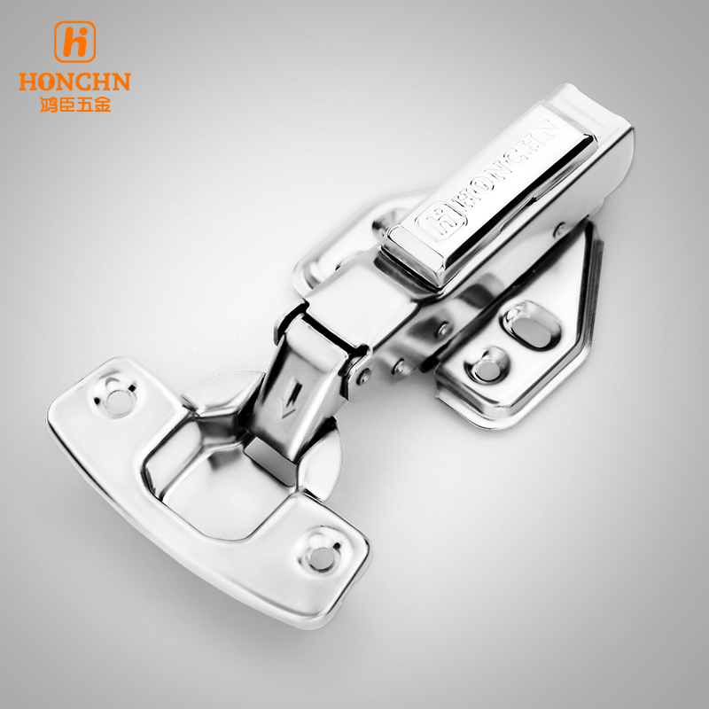 Chen Hung 304 stainless steel hinge wardrobe cabinet door hinge hydraulic buffer hinge hardware plane bending