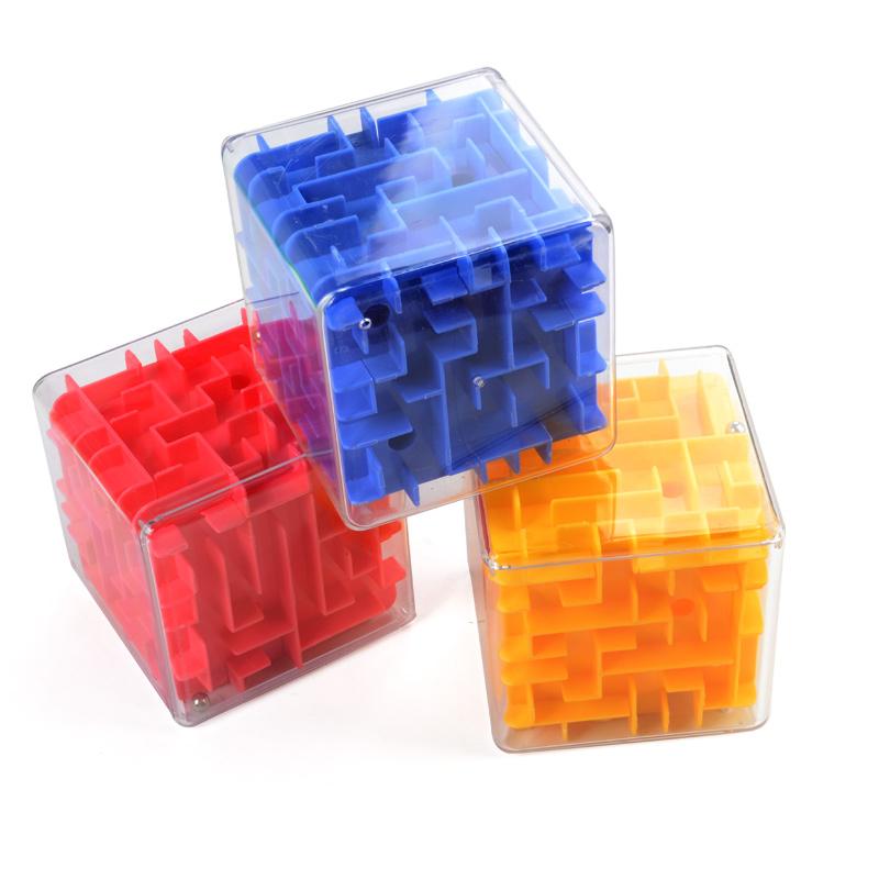 Шесть сторон через лабиринт стереоскопического 3d кубик Рубика мяч в интересах разведки Ницца детей 3 - 6 лет игрушки волшебный мяч