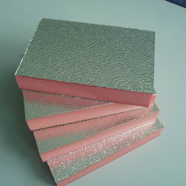 Lámina de aluminio de extrusión de aluminio extruido XPS placa de aluminio extruido de paneles aislantes de Fujian el doble papel de aluminio extruido de placa de viento.