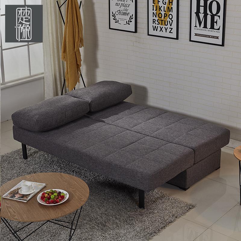 Τσου γιου Nordic καναπέ κρεβάτι πολυλειτουργική απλό το μικρό μέγεθος της σύγχρονης σπρώξε τον καναπέ - κρεβάτι DF-20 αποθήκευσης
