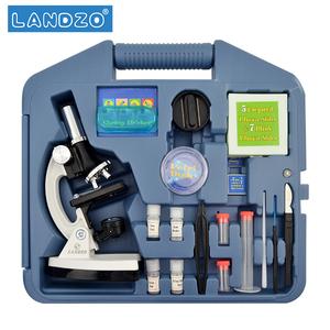 学生1200高倍显微镜 专业 生物便携生物实验箱科学实验儿童节礼物