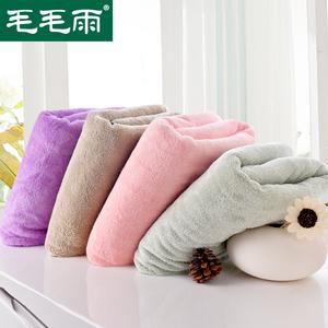 加厚珊瑚绒大浴巾不掉毛不掉色超吸水成人情侣洗澡超柔软出口日本