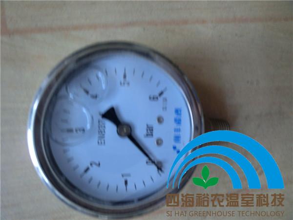 灌溉系统甘油压力表 管道压力测量 灌溉资材 材料