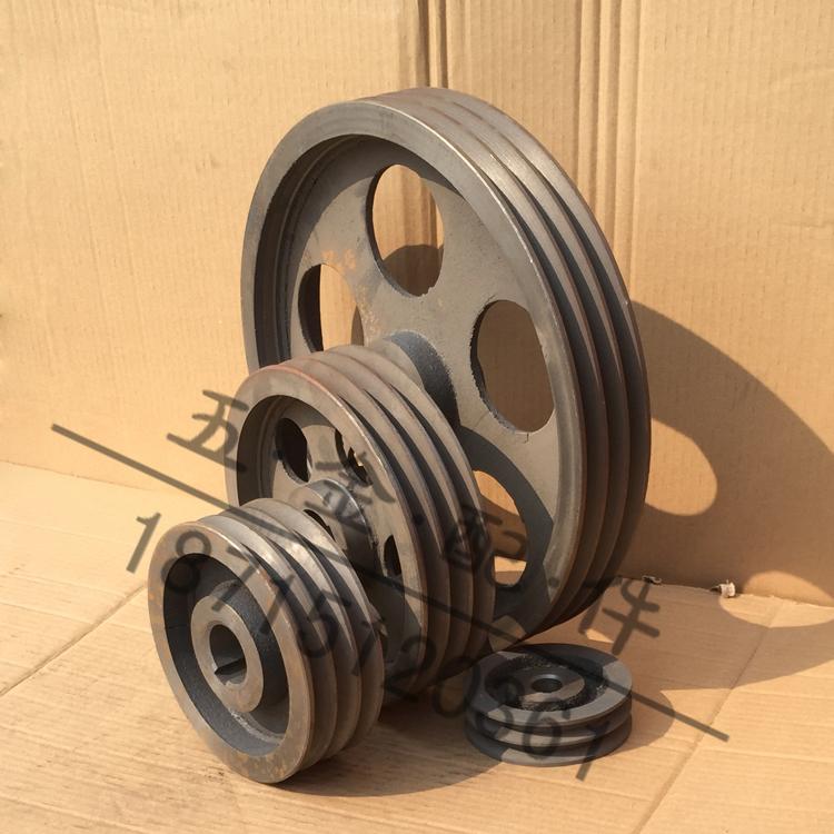 三角プーリ鋳鉄ベルト盤A型3溝直径120-250mm(空)メーカー直販3 A