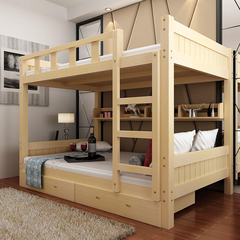 Все деревянные двухъярусные кровати детей спать в постели на двухъярусной кровати высота прилавок мать материнской кровати взрослых все сосны кровать