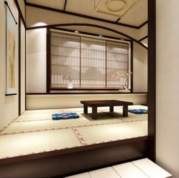 Tatami bed tatami Japanese custom wood furniture customization platform and the whole house custom-made Wardrobe Storage Kang