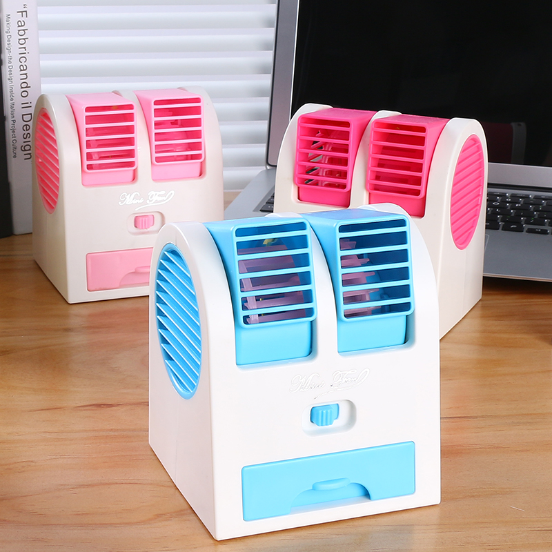 Air conditioning fan cooling refrigerator cold warm dual-purpose household mobile water and small air conditioning cooling fan air conditioner
