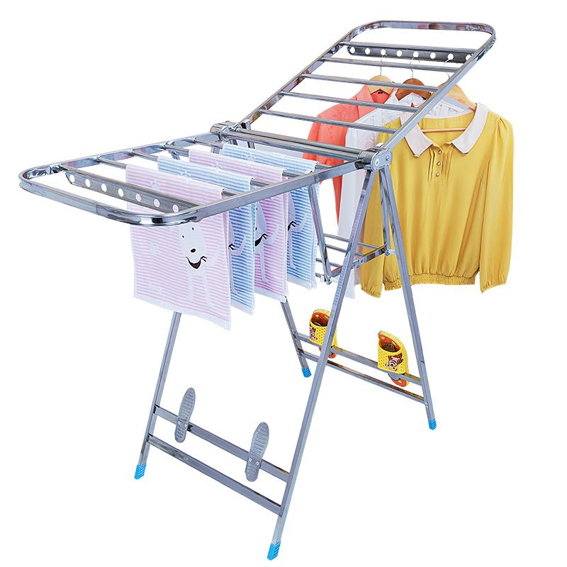 Balkon - Man Edelstahl - stock baby einfach windel Rack montiert im Haushalt verdickung in der wäscheständer