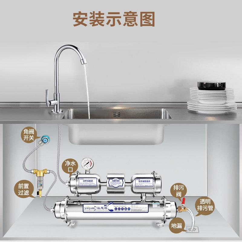 Verschüttete siyuan Edelstahl gerade trinken, magnetisierung wasserfilter - Küche Beurteilung der kläranlage leitungswasser nun Filter