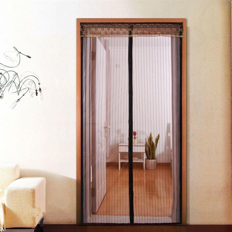 sommer myg gardin magnetisk bløde dør gardin, kryptering, anti - myg magnet salmonella - soveværelse vindue