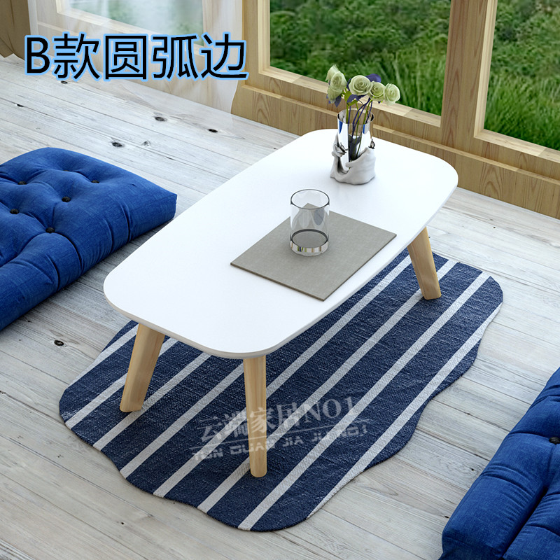 Simple wooden tables small Kang Table Kang several small tea table table table table table pit tatami bed computer desk